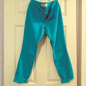 Lei teal jeans